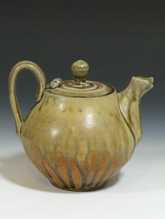 Yellow Orange Handmade Stoneware Pottery Teapot by JonArsenault on Etsy. Pottery Teapots, Ceramic Teapots, Orange, Yellow, Stoneware, Handmade Gifts, Handmade Ceramic, Tea Pots, Ceramics