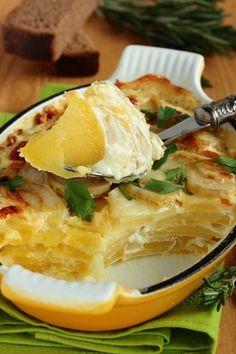 Сливочная картофельная запеканка.: nimfeechka