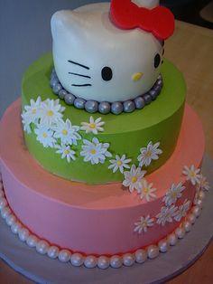 Hello Kitty cake | buttercream birthday cake | Sylvia Castaneda | Flickr