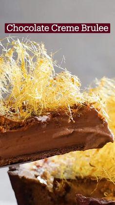 Just Desserts, Delicious Desserts, Dessert Recipes, Yummy Food, Chocolate Creme Brulee, Comida Diy, Brulee Recipe, Chocolate Recipes, Love Food