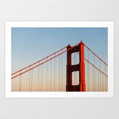 Golden Gate Bridge Art Print by Bust it Away Photography - $15.00