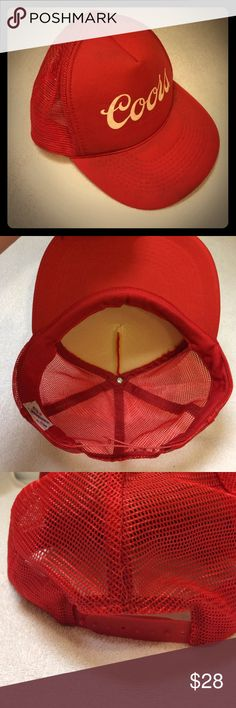 Shop Men s Red size OS Hats at a discounted price at Poshmark. Description   So cool! Vintage
