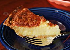 SOUTHERN BUTTERMILK PIE ~ few ingredients and so easy ...and oh so yummy