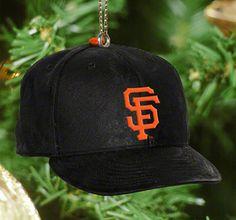 San Francisco Giants Baseball Cap Ornament