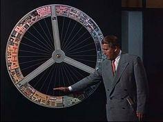 Werner Von Braun explains how a space station will work in the Tomorrowland segment of Walt Disney's show.