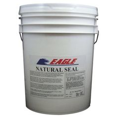 Eagle 5 gal. Natural Seal Penetrating Clear Water-Based Concrete and Masonry…