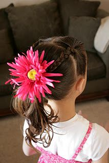 Lots of hairstyles for little girls