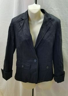 Attention Women's Black Jacket Size 4 #Attention #Blazer
