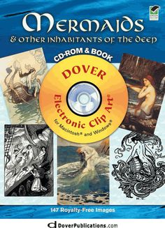 Mermaids and Other Inhabitants of the Deep CD-ROM and Book