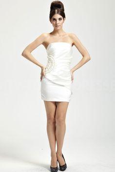 Satin Strapless Modern Homecoming Dresses - Order Link: http://www.theweddingdresses.com/satin-strapless-modern-homecoming-dresses-twdn4592.html - Embellishments: Beading; Length: Floor Length; Fabric: Satin; Waist: Natural - Price: 164.2479USD