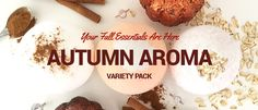 Our Autumn Aroma pack features cinnamon, spice, & everything delicious about Fall! Our Pumpkin Spice Latte, Vanilla Chai and Oatmeal & Honey Bath Bombs promote smooth skin, and keep you warm & toasty on cool Autumn nights.