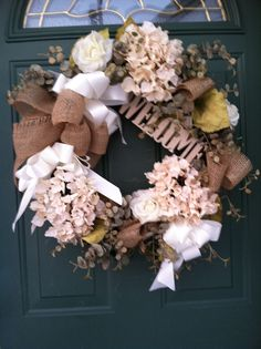 Wreaths by Cherie on Facebook - please come see my page :)
