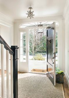 Front Entry in Atlanta, Ga home. TerraCotta | Atlanta, New Jersey, Manhattan NYC | www.terracottaproperties.com