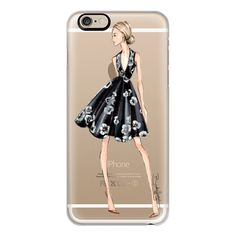 iPhone 6 Plus/6/5/5s/5c Case - Caroline-Brooklit-Fashion... ($40) ❤ liked on Polyvore featuring accessories, tech accessories, phone, phone cases, iphone case, slim iphone case, apple iphone cases, clear iphone cases and iphone cover case