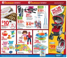 Walmart Black Friday 2013 Ad Page 11 Ad - #blackfriday #sales #deals #coupons #toys #dolls #chocolate #stroller #bathroom #spiderman