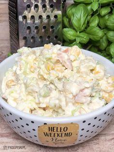 Easy Soup Recipes, Keto Recipes, Polish Recipes, Love Eat, Healthy Dishes, Food Hacks, Potato Salad, Good Food, Food And Drink