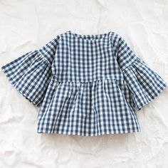 Organic elvira blouse - Piecemeal - Via Thumbeline