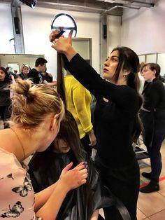 Dag 4 van de #joicoschoolcontest #jsc2017 bij The Linq met #joico Christel Smeets  Philippe Mathys  Katelijne Joico Belgium en #peterplatel