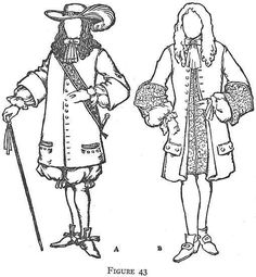 Colonial clothing pennsylvania to the revolution 1681 for Colonial coloring pages