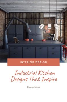Industrial Kitchen Designs That Inspire >> >> >> Hay the design, Look at some decorating tech. Best Interior, Kitchen Interior, Home Interior Design, Kitchen Inspiration, Design Inspiration, Design Ideas, Industrial Kitchen Design, Food Preparation, Kitchen Lighting