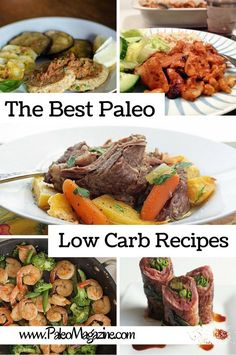 52 Delicious Paleo Low Carb Recipes http://paleomagazine.com/delicious-paleo-low-carb-recipes #paleo #recipes #glutenfree