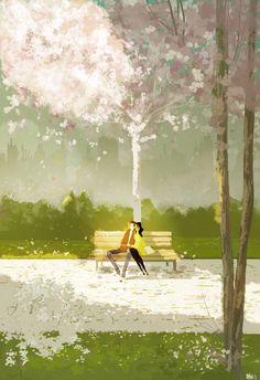 After rain,  Pascal Campion