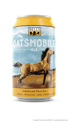 mybeerbuzz.com - Bringing Good Beers & Good People Together...: Bell's New 12 oz. Oatsmobile Cans Coming Spring 20...