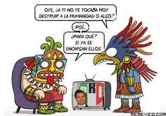 Lo dicen los mayas