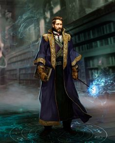 I know this isn't Newt Scamander, but does look him at middle age.