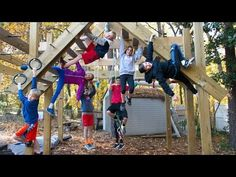 One of the coolest Backyard American Ninja Warrior courses I have ever seen. Shot with the GoPro Hero 5 Black in Kids Backyard Playground, Backyard Gym, Backyard Obstacle Course, Kids Obstacle Course, Backyard For Kids, Backyard Playhouse, Playground Ideas, Backyard Ideas, Kids Ninja Warrior