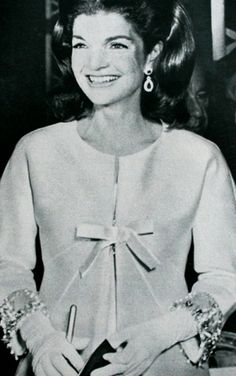 """Jacqueline Kennedy Onassis, born Jacqueline Lee """"Jackie"""" Bouvier July 28, 1929 – May 19, 1994) was the wife of the 35th President of the United States, John F. Kennedy, and First Lady of the United States during his presidency from 1961 until his assassination in 1963. ✿❤❤❤❤✿http://en.wikipedia.org/wiki/Jacqueline_Kennedy_Onassis"""
