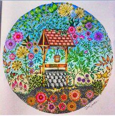 Jardim secreto/ floresta encantada