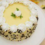 Tort diplomat cu ananas si portocale - Desert De Casa - Mara Popa