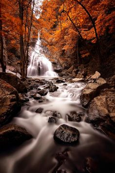 Landscape Photography by Erhan Asik--creating depth by getting a low shot, long exposure.
