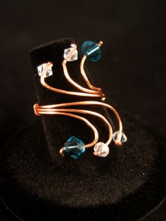 """Copper Wave""  Item#: 011049C  Commissioned Piece   fantasytocreation.com"