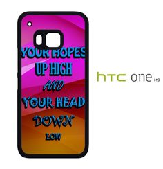 A Day To Remember Quote white D0279 HTC One M9 Case