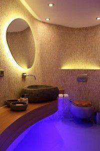 light behind mirror is a wonderful way to light this vanity avoiding glare bathroom lighting lighting mirrors