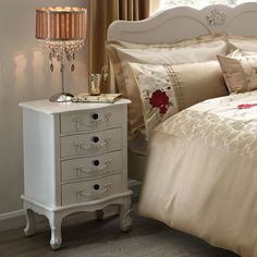 Toulouse White Bedroom Furniture Collection Dunelm 69