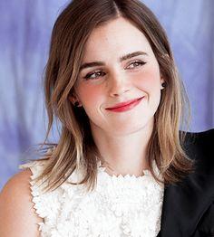 """Emma Watson at the press conference of Beauty and the Beast, March "" Emma Watson Fan, Emma Watson Quotes, Ema Watson, Hermione Granger, Daniel Radcliffe, Emma Watson Makeup, Emma Watson Beautiful, My Emma, Celebs"