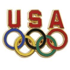 Team USA Olympics Pin