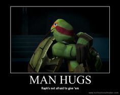 I was confused when Raph did that... Why didn't Mikey freak out?
