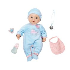 Zapf Creation Baby Annabell Brother Doll Baby Annabells Brother is just like a real baby with realistic sound and movements. He can now really wet his nappy amp 3rd Baby, Baby Boy, Baby Annabell, Baby Sounds, Zapf Creation, Toys Uk, Small Baby, Prams, Boy Doll