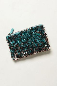sparkly sequin clutch