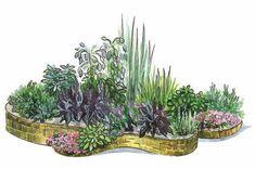 Садик пряных трав (Рисунок: Анастасия Саржан)