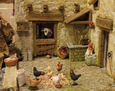 Pin by Judy Martin on Shadow boxes Christmas Nativity Scene, Christmas Crafts, Christmas Decorations, Diy Nativity, Nativity Scenes, Nativity Painting, Painting Art, Fairy Garden Houses, Le Far West