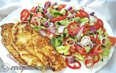 Érdekel a receptje? Kattints a képre! Küldte: Trarita Vegetable Pizza, French Toast, Bacon, Food And Drink, Healthy Recipes, Healthy Foods, Chicken, Vegetables, Breakfast