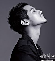 Kim Sang Bum for Singles July 2015 issue. Noona killing I tell you.