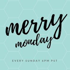 Merry Monday Link Up Party is open. We're all excited to see what you've been up to. #merrymonday #linkup
