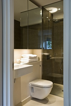 PEEK Architecture + Design, Brompton Square, London. Shower room Shower Rooms, Brompton, Powder Room, Architecture Design, Toilet, Bathrooms, House Ideas, London, Home