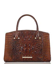 2a9e9edd638 Brahmin Melbourne Collection Greta Satchel  Dillards Leather Purses